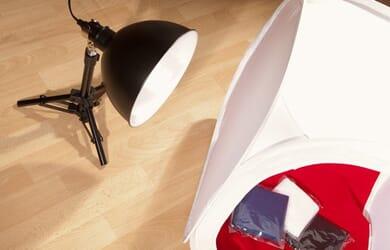 Productfotografie met een FotoCube lichttent